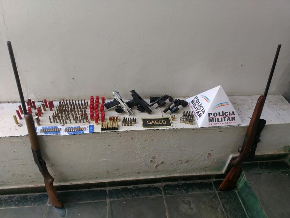 Operação 'Cevada' no Noroeste Mineiro e DF resulta em prisões e apreensões de armas e bebidas falsificadas