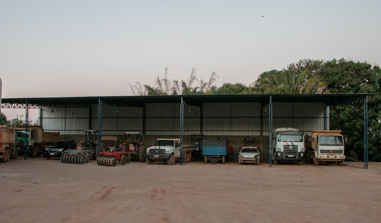 Novo estacionamento é construído na SEMOB