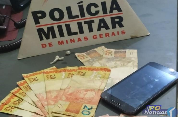 Jovem de 21 anos é preso suspeito de tráfico de drogas em Lagoa Grande