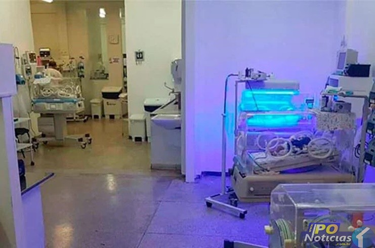 Bebê chega entubado em Patos de Minas com sintomas da COVID-19 e mobiliza até a polícia
