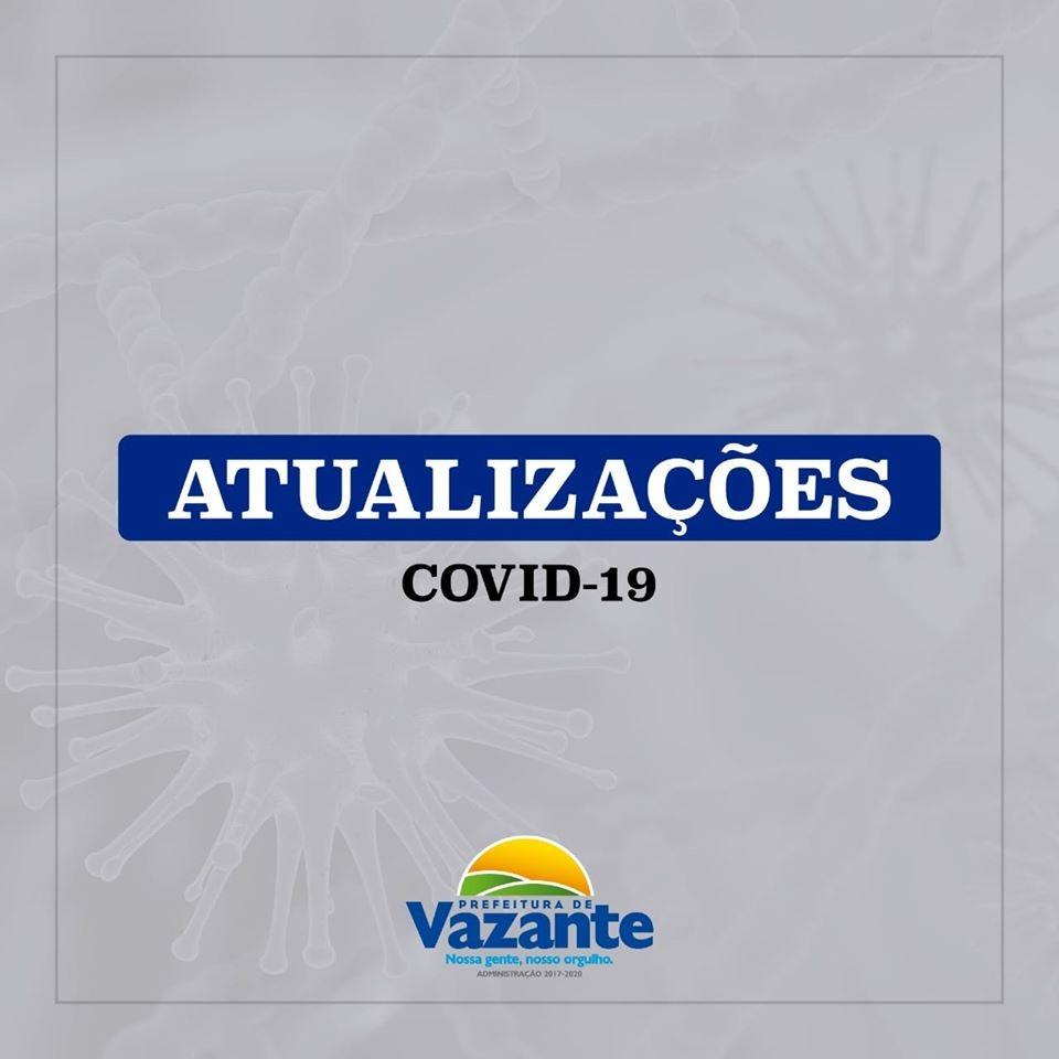 Casos de Covid-19 chegam a 10 em Vazante; uso de máscaras no comércio e órgãos públicos é obrigatório