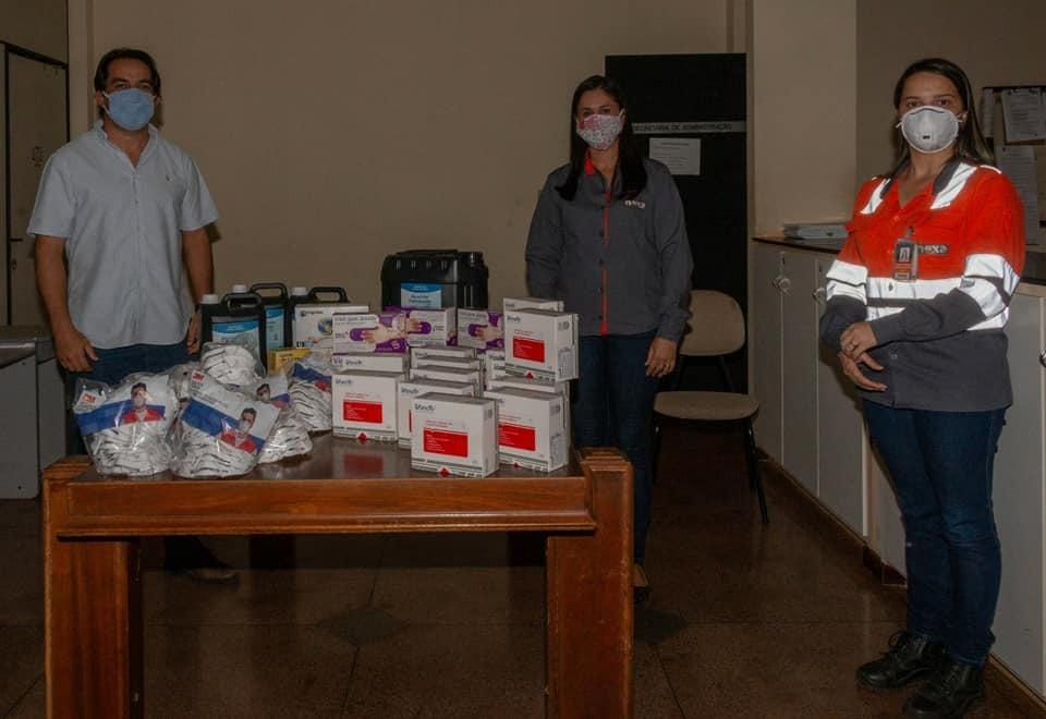 NEXA faz doação de kits rápidos de detecção de COVID-19 ao município de Vazante