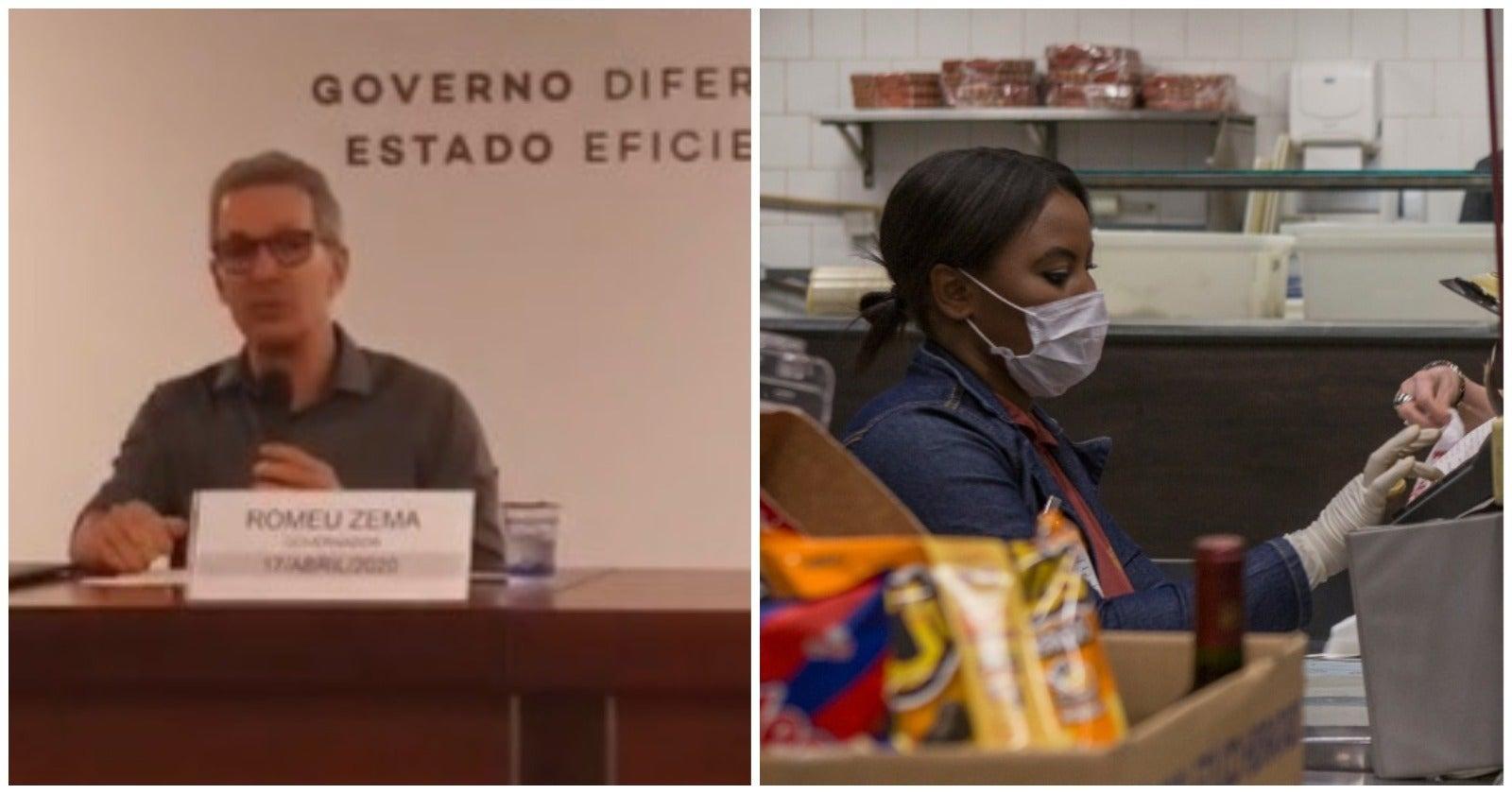 Zema assina lei que obriga uso de máscaras em todo o estado e diz que pior já passou