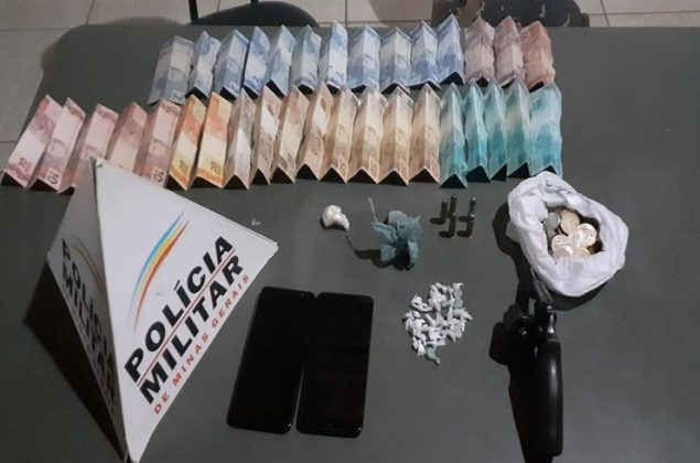 Polícia Militar prende suspeitos de tráfico de drogas e posse ilegal de arma de fogo em Lagoa Grande