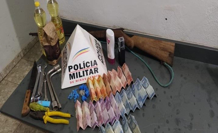 Jovem com mandado de prisão é detido por suspeita de tráfico e receptação em Lagoa Grande