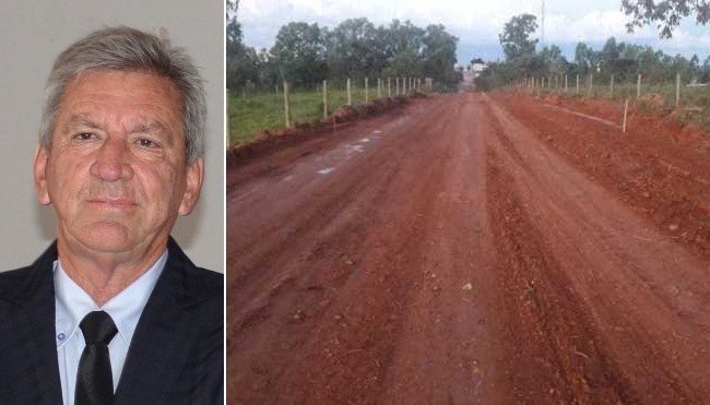 Caixa aprova recursos para asfaltamento da estrada Lagamar/São Brás de Minas