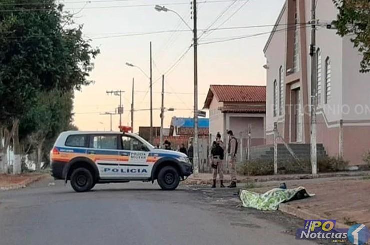 Homem assassina desafeto, entra em confronto com a Polícia Militar e morre em Patrocínio