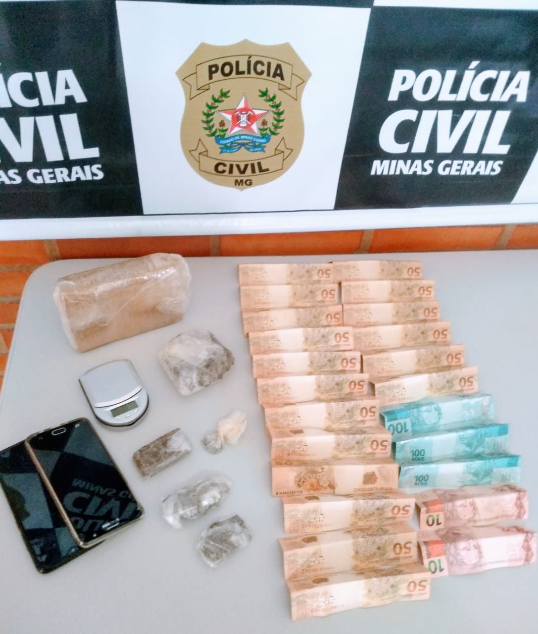 Polícia Civil prende homem por tráfico de drogas em Vazante