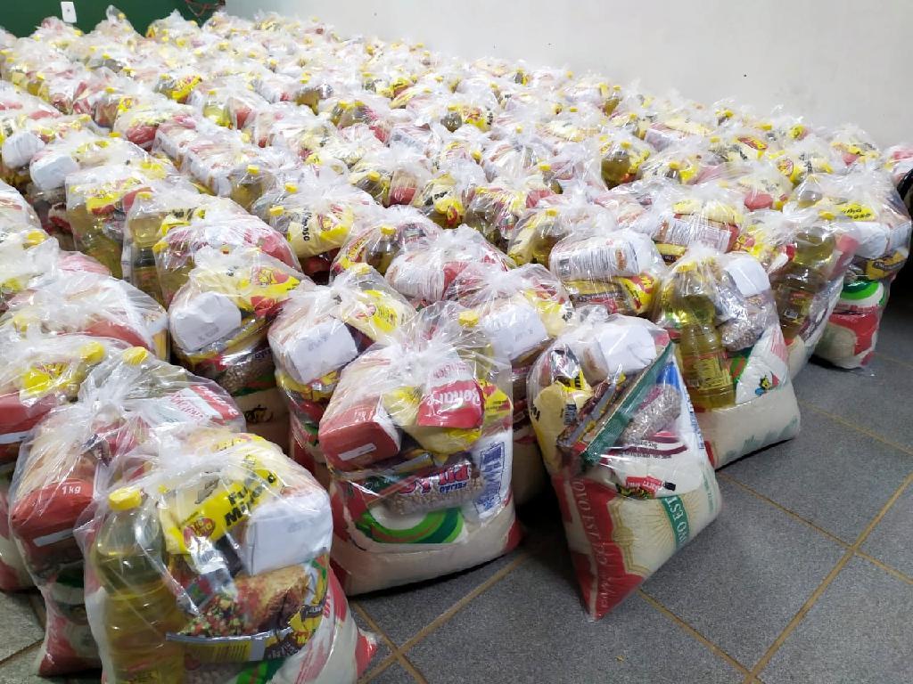 Alunos da escola JK vão receber kits de alimentação