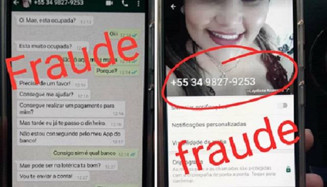 Golpe do WhatsApp faz vítima em Vazante