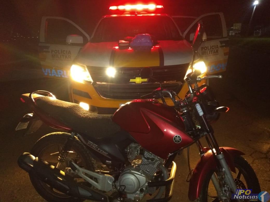 Motociclista que transportava drogas de Patos de Minas para Vazante é preso na MGC-354