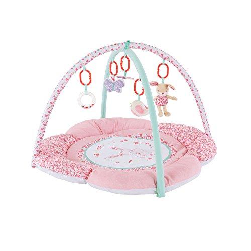 tapis d eveil jardin rose de mothercare