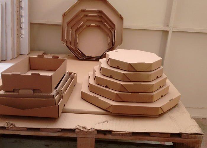 montar uma fabrica de caixas para pizza