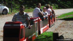 Le Petit Train du Parc Thermal © montblancfamilyfun