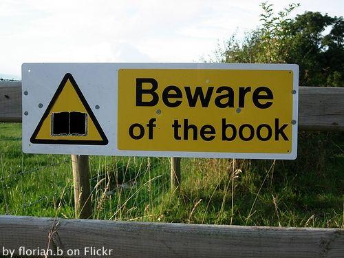 Beware of the Book