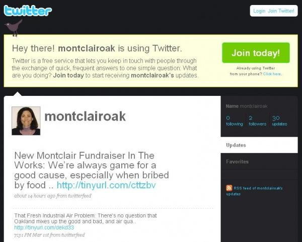 Twitter MontclairOak