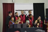 """Photos by Sam Wall The Chorus Swing Choir sings """"You Raise Me Up"""" at the begininning of Friday evening's graduation at Eastern Montgomery High School."""