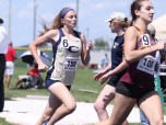 Christiansburg's Julia Moschella placed 5th in the 800 and 4th in the 400 m events at the 3A state championship meet in Harrisonburg.