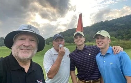 Hole in one at Pete Dye River Course