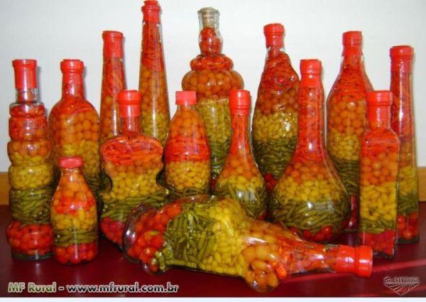 Pimentas em Conserva varios tamanhos  Loja de montelibanoalimentos