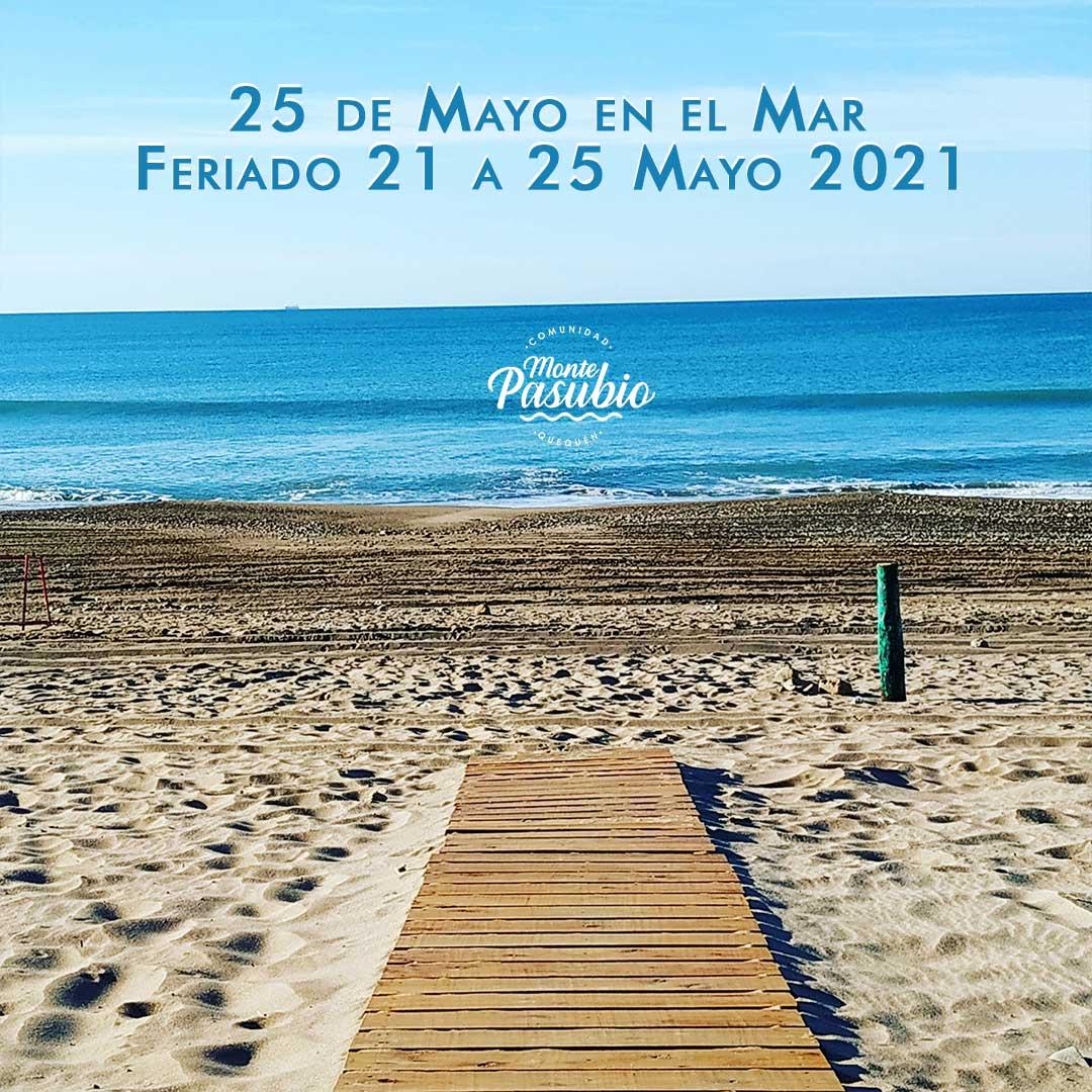 Feriado 25 de Mayo 2021