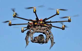 drone aircraft with camera