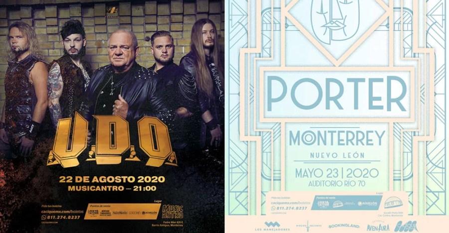 Udo y Porter a Monterrey