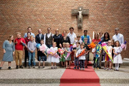 Neue HagenSchüler starten mit Einschulungsgottesdienst