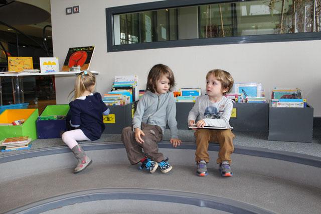 Médiathèque : école Montessori Internationale de Bordeaux-Gradignan