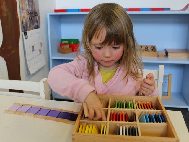 Couleurs Montessori