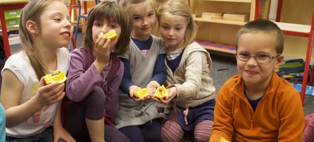 Recettes pour le snack Montessori