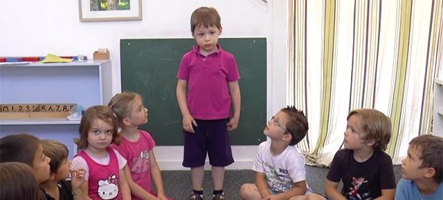 Poésie de La Fontaine en maternelle Montessori