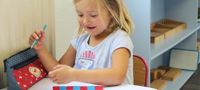 Une jolie semaine Montessori se termine