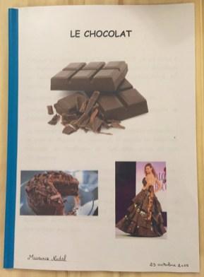 fascicule chocolat
