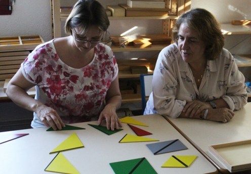 formation montessori 3-6 triangles constructeurs