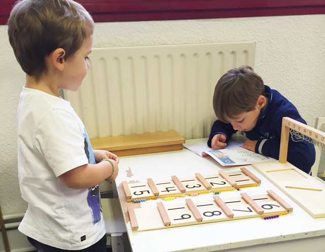 montessori individualise