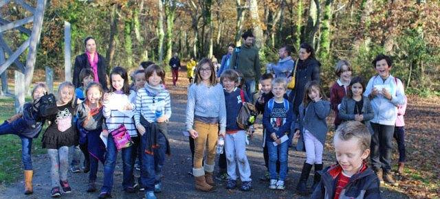 Sortie scolaire au parc du Bourgailh #décembre2015