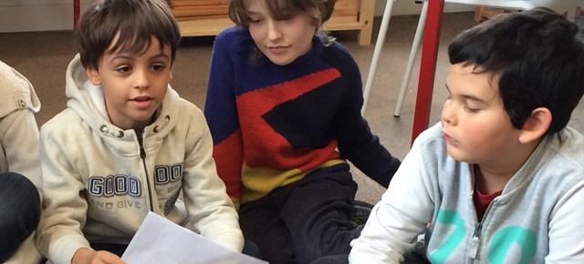 Exposé passionnant à l'école Montessori