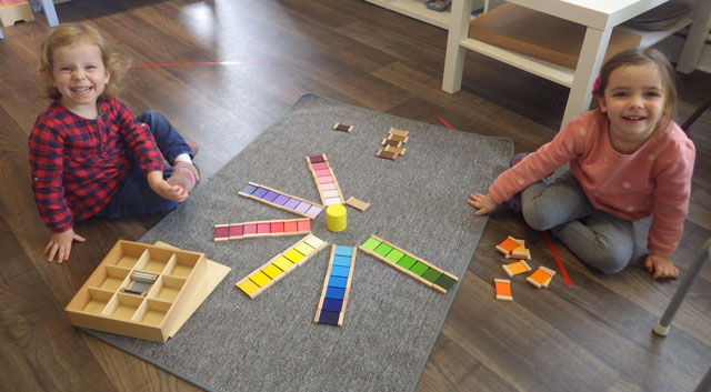 boite couleur 3 montessori