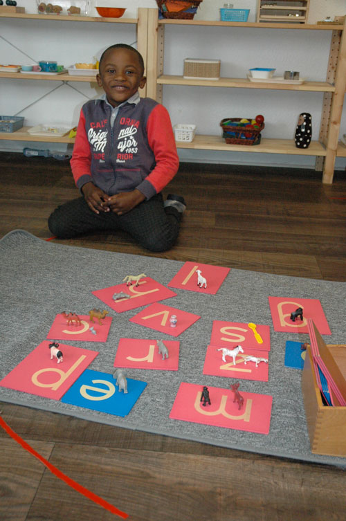 lettres montessori