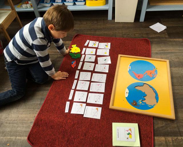 planisphere montessori