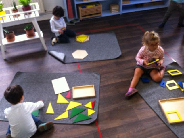 sensoriel montessori