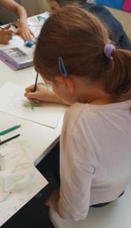 Montessori International de Bordeaux-Gradignan aquarelle