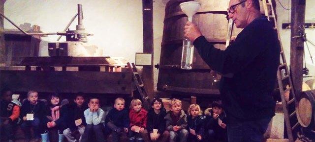 Visite Montessori de l'écomusée de la vigne et du vin