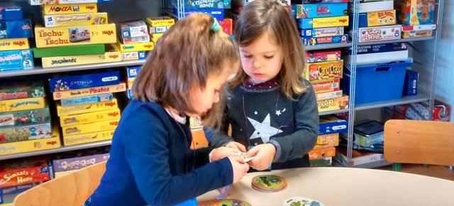Sortie Montessori à la ludothèque