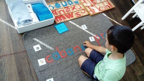 Une belle rentrée en maternelle à l'école Montessori