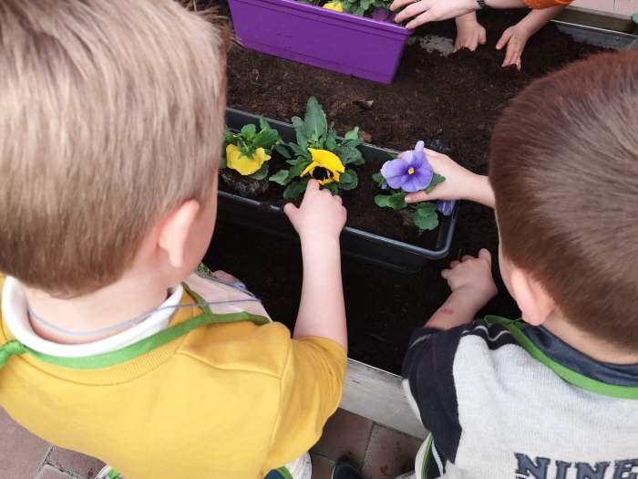 montessori international bordeaux jardinage 1
