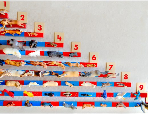 Montessori-Number-Rods-Animals