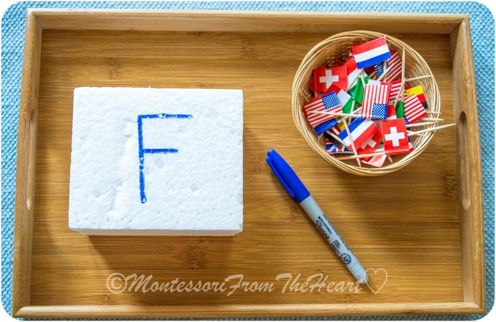 F-for-Flag-Styrofoam--Toothpick-Poking.