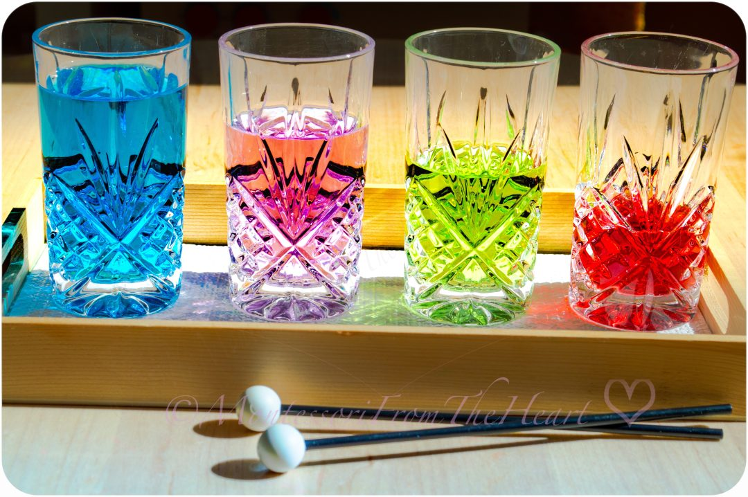 DIY water glass xylophone